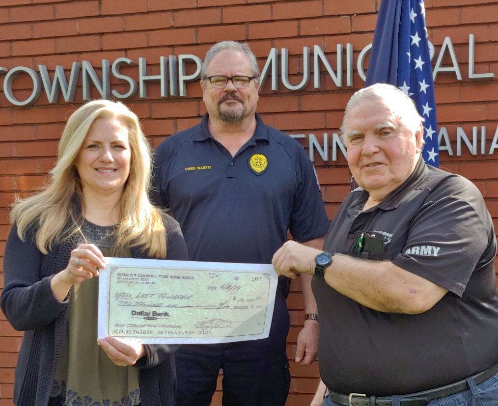 Sewickley VFW Donation