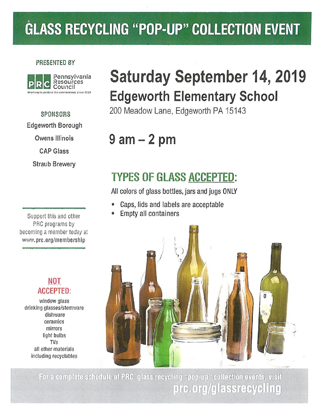 Edgeworth Recycling Event
